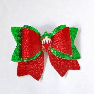 """Christmas bow 5"""""""